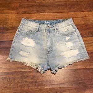 Urban Outfitters Super Hi-Rise Shorts Sz 27
